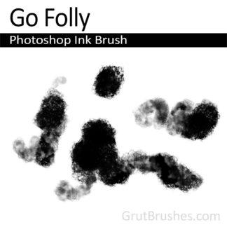 Go Folly - Photoshop Ink Brush