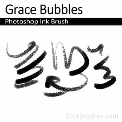 Grace Bubbles - Photoshop Ink Brush