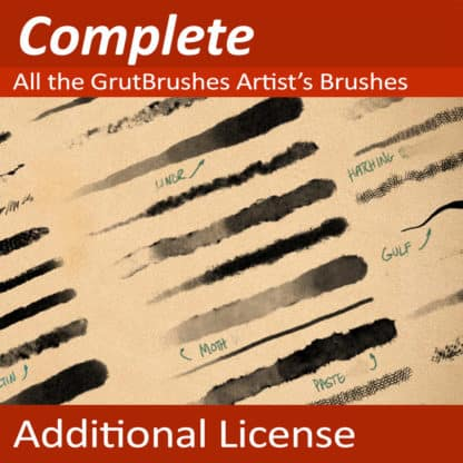 Art Brushes Complete - Additional License