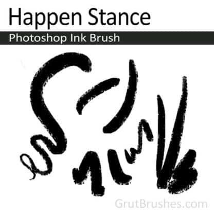 Happen Stance - Photoshop Ink Brush