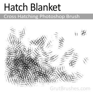 Hatch Blanket - Photoshop Cross Hatching Brush