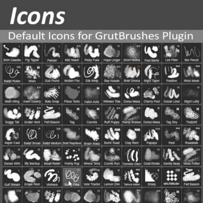 GrutBrushes Plugin Icons