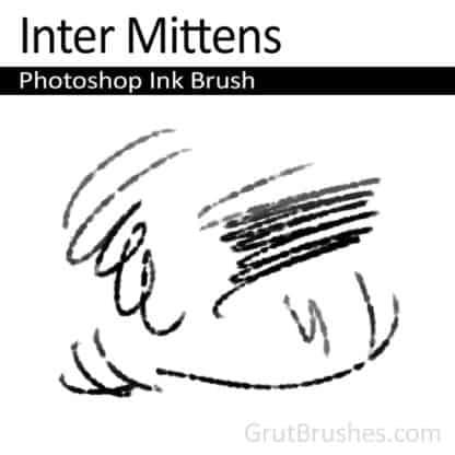 Inter Mittens - Photoshop Ink Brush