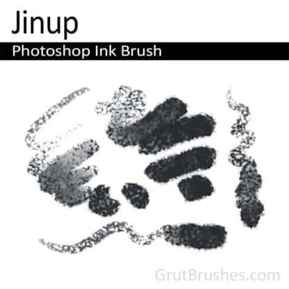 Photoshop Ink Brush for digital artists 'Jinup'