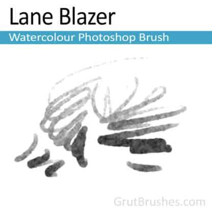 Photoshop Watercolor Brush for digital artists 'Lane Blazer'