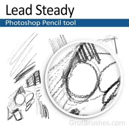 Lead Steady - Photoshop Pencil Brush