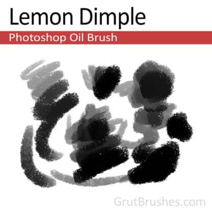 Lemon Dimple - Photoshop Oil Brush