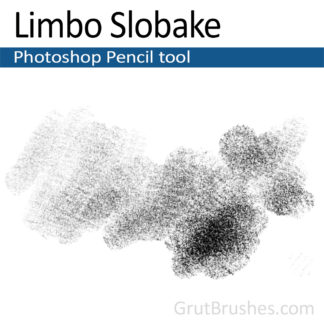 Photoshop Pencil Brush for digital artists 'Limbo Slobake'