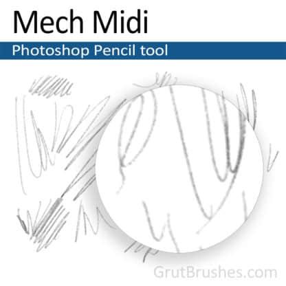 Mech Midi - Photoshop Pencil