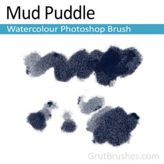 Mud Puddle - Photoshop Watercolor Brush