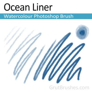 Ocean Liner - Photoshop Watercolour Brush