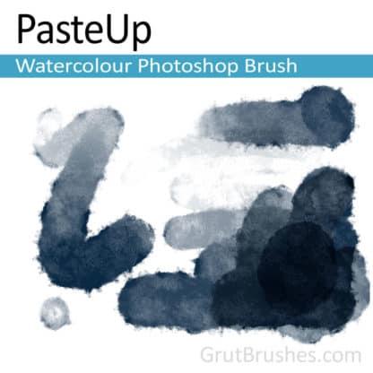 Pasteup - Natural Watercolour Photoshop Brush