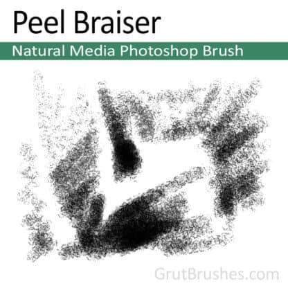 Peel Braiser - Photoshop Charcoal Brush