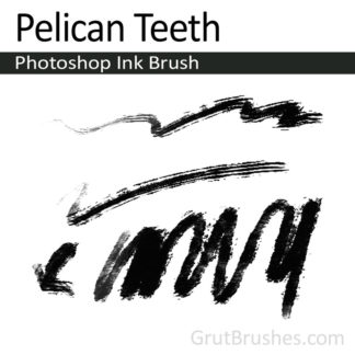 Pelican Teeth - Photoshop Ink Brush