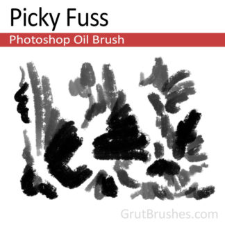 Picky Fuss - Photoshop Oil Paint Brush
