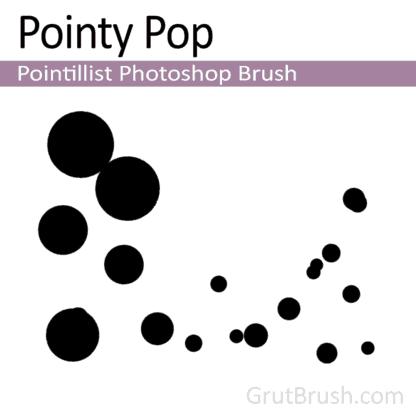 Pointy Pop - Pointillist Photoshop Brush