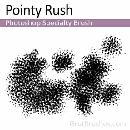 Pointy Rush - Photoshop Specialty Brush