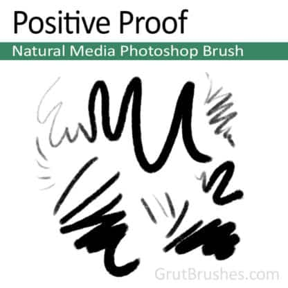 Positive Proof - Natural Media Pastel Brush
