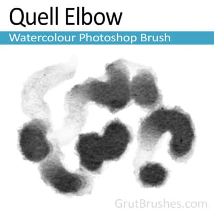 Quell Elbow - Photoshop Watercolor Brush