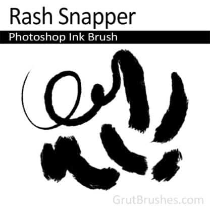 Rash Snapper - Photoshop Ink Brush