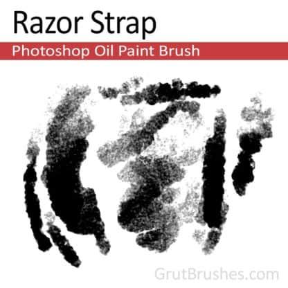 Razor Strap - Photoshop Oil Brush