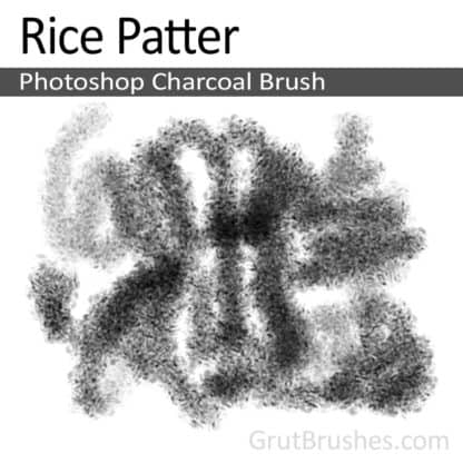 Rice Patter - Photoshop Charcoal Brush