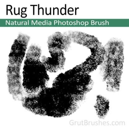 Rug Thunder - Photoshop Natural Media Brush