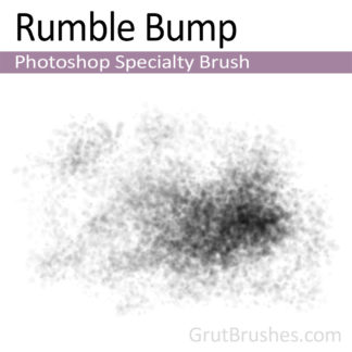 Photoshop Specialty Brush for digital artists 'Rumble Bump'