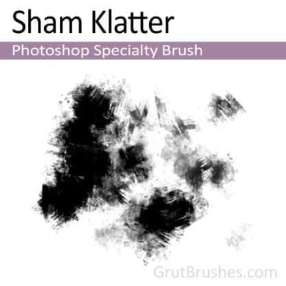 Photoshop Specialty Brush for digital artists 'Sham Klatter'