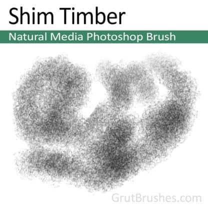 Shim Timber - Photoshop Natural Media Brush