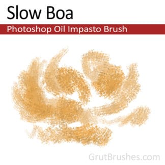 Slow Boa - Photoshop Impasto Oil Brush